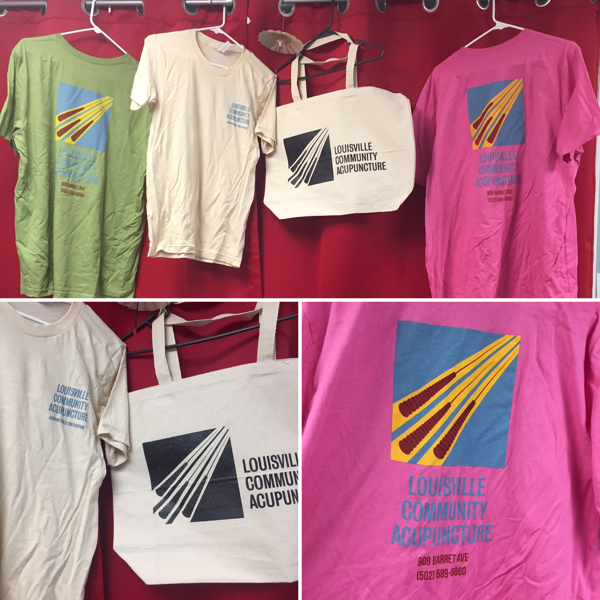 community acupuncture merchandise